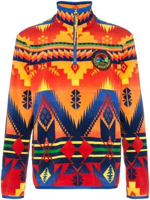 Polo Ralph Lauren geometric print sweater