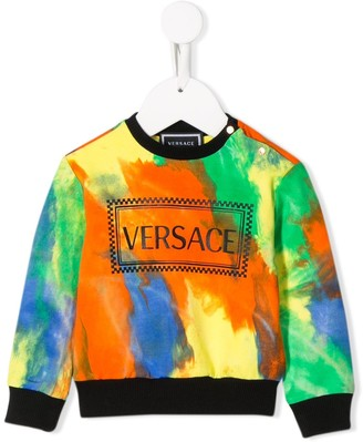 Versace Paint Stroke Sweatshirt