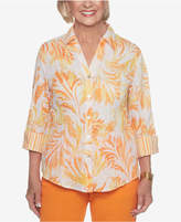 Alfred Dunner Still My Sunshine Printed Shirt