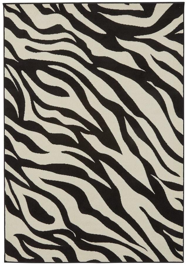 Very Zebra Print Rug