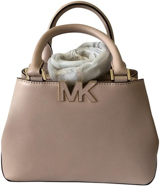 Michael Kors Pink Leather Handbags