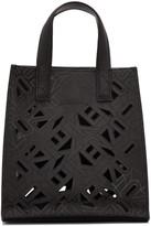 Kenzo Black Flying Logo Tote Bag