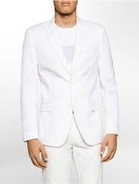 Calvin Klein Slim Fit Linen Blend Jacket