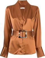 Nicholas Sahra belted blouse