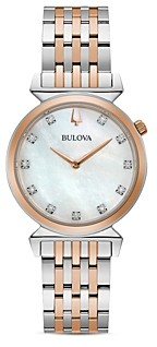 Bulova Regatta Diamond Slim Watch, 30mm