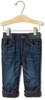 Gap 1969 My First Fleece-Lined Straight Jeans
