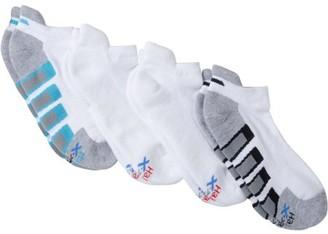 Hanes Men's Big & Tall X-Temp Active Cool Heel Shield Socks 4-Pack