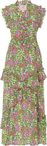 Banjanan Donna Floral-Print Silk Dress