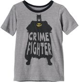 """Boys 4-10 Jumping Beans® DC Comics Batman """"Crime Fighter"""" Striped Graphic Tee"""