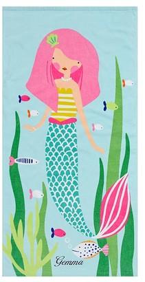 Pottery Barn Kids Mermaid Icon Baby Beach Towel
