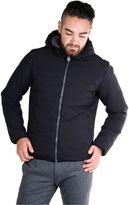 Invicta Man Reversible Padded Jacket Black-grey