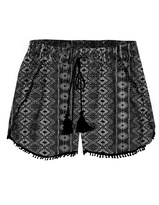 Dex Crochet Trim Shorts