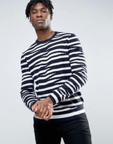 French Connection Stripe Knitwear