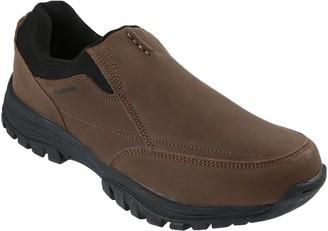 Northside Men's Leather Slip-On Hiking Shoes -Whitman