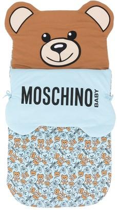 MOSCHINO BAMBINO Logo Sleeping Bag