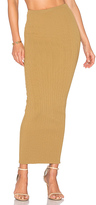 Ronny Kobo Bethanne Maxi Skirt in Olive. - size M (also in S)