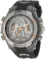 Armitron Men's 204589ORGY Analog-Digital Chronograph Gray and Black Sport Watch