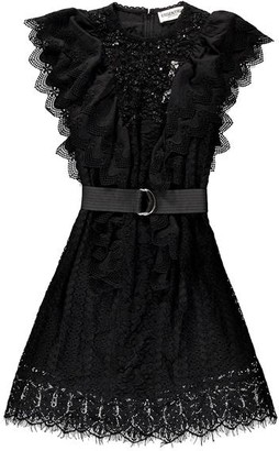 Essentiel Antwerp Vamos Lace Dress - Black / FR36 - UK8
