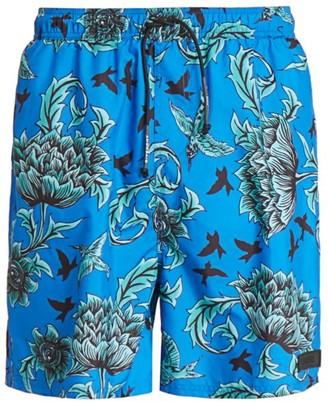 Givenchy Allover Print Swim Trunks