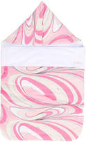 Emilio Pucci Junior swirl print sleeping bag