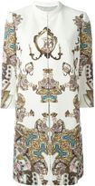 Antonio Marras printed coat - women - Cotton/Acetate/Cupro/Viscose - 42