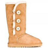 UGG Bailey Triplet Chestnut Suede Flat Boot