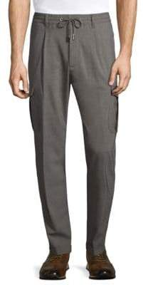 Eleventy Wool-Blend Jogger Pants