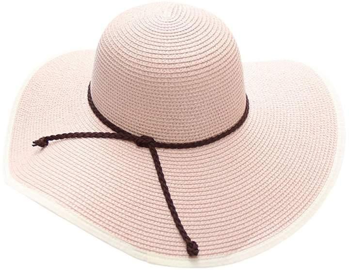 d12b9e213a7e Pink Wide Brimmed Hat - ShopStyle Canada