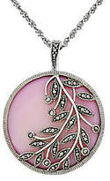Mother of Pearl Suspicion Sterling Pink Mother-of-Pearl Enhance