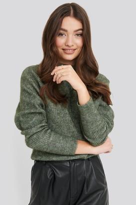 NA-KD Wool Blend Raglan Sleeve Sweater