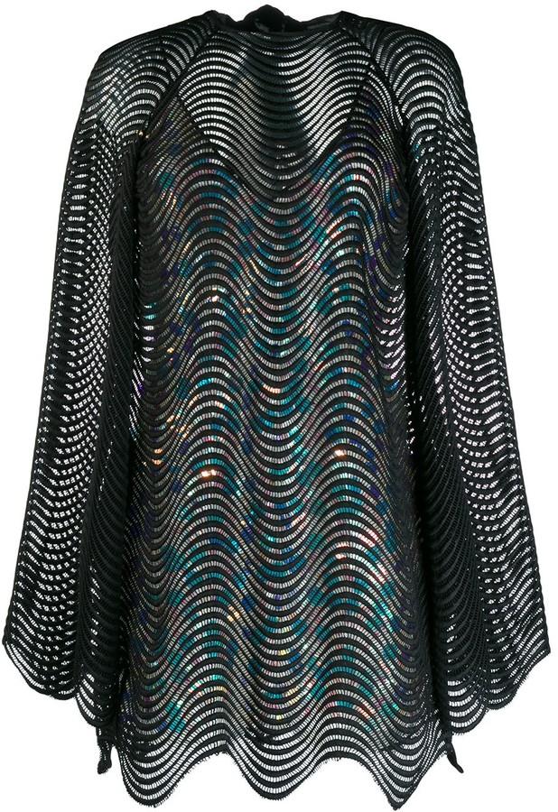 Marco De Vincenzo Layered Mini Dress