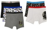 Star Wars Boys' 5 Pack Boxer Briefs - Multi-Colored