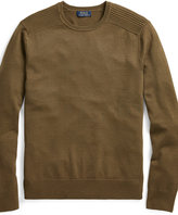 Ralph Lauren Merino Wool Moto Sweater
