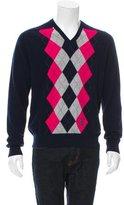 Pringle Cashmere Argyle Sweater