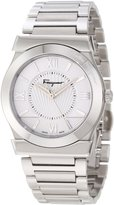 Salvatore Ferragamo Men's F74MBQ9901 S099 Vega Polished Stainless Steel Dial Sapphire Crystal Watch