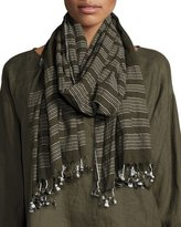 Eileen Fisher Organic Cotton Jamdani Scarf