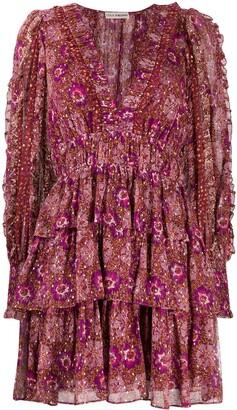 Ulla Johnson Long-Sleeve Prairie Dress