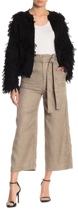 Do & Be High Waisted Ruffled Paperbag Pants