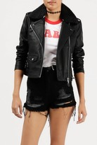 Obey Billie Vegan Leather Jacket