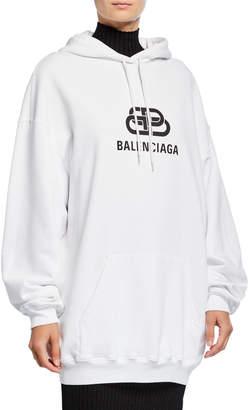 Balenciaga Oversized BB Logo Sweatshirt