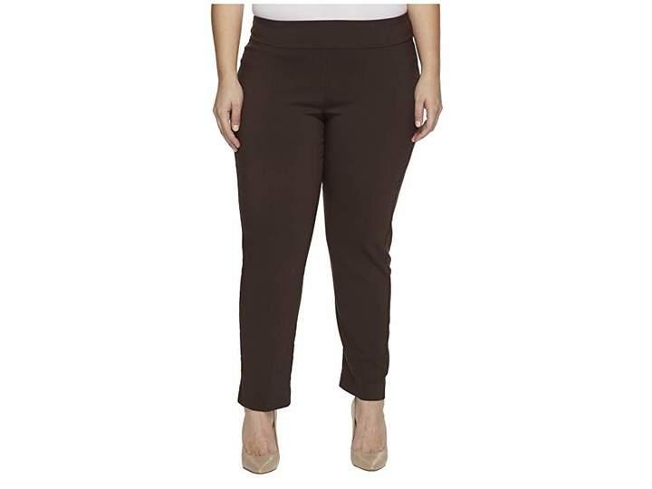 Plus Size Pull-on Rayon, Nylon, Spandex Pant - ShopStyle