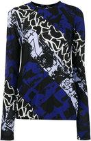 Proenza Schouler Printed Ultra-Fine Jersey