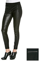 Jessica Simpson Tomkin Faux Leather Front Ponte Skinny Legging