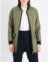 Belstaff Ribbed-trim quilted jacket