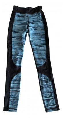 Sweaty Betty Black Synthetic Trousers