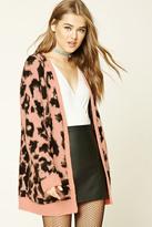 Forever 21 FOREVER 21+ Leopard Print Cardigan