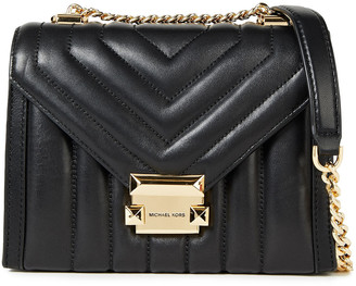 MICHAEL Michael Kors Whitney Small Quilted Leather Shoulder Bag