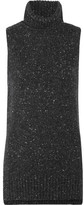 ADAM by Adam Lippes Merino Wool And Cashmere-blend Bouclé Turtleneck Top - Charcoal