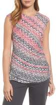 Nic+Zoe Spiced Up Ruched Tank Top