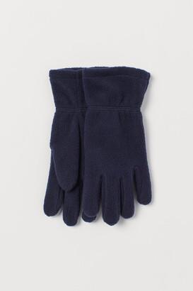 H&M Fleece Gloves - Blue